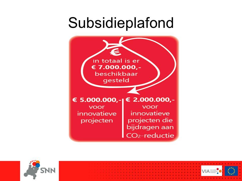 Subsidieplafond