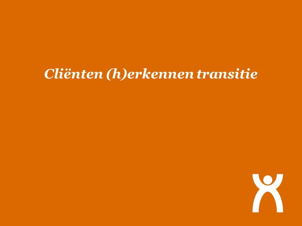 Cliënten (h)erkennen transitie