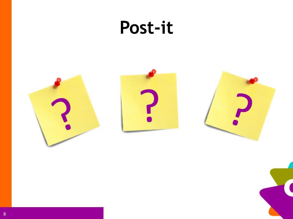 8 ? ? ? Post-it