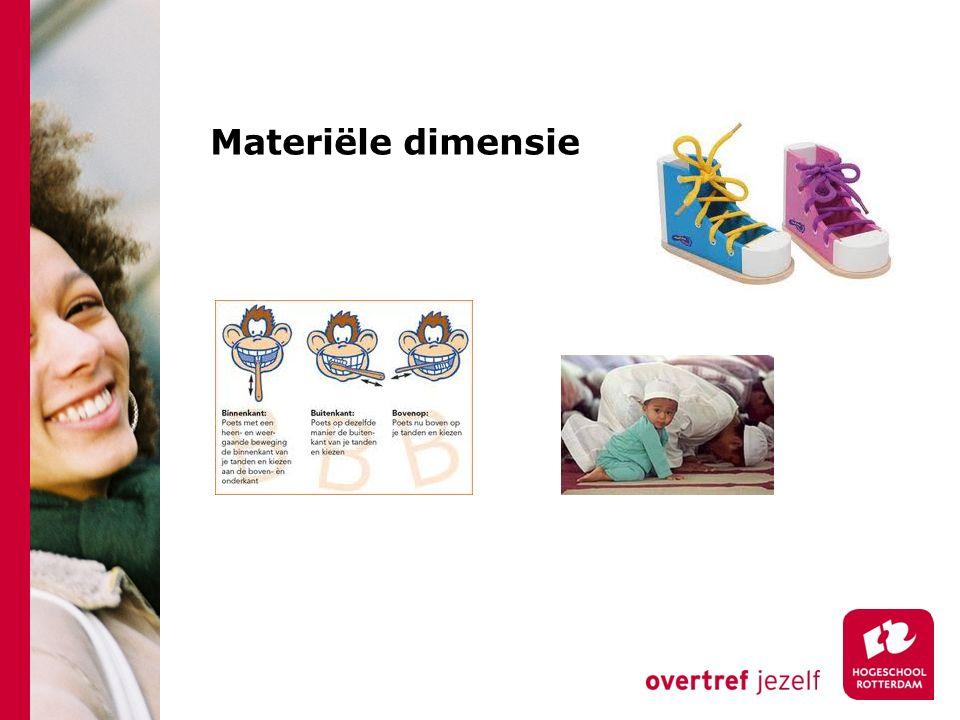 Materiële dimensie