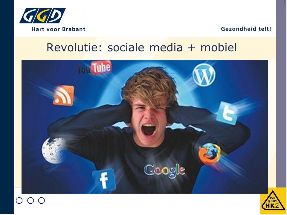 Revolutie: sociale media + mobiel