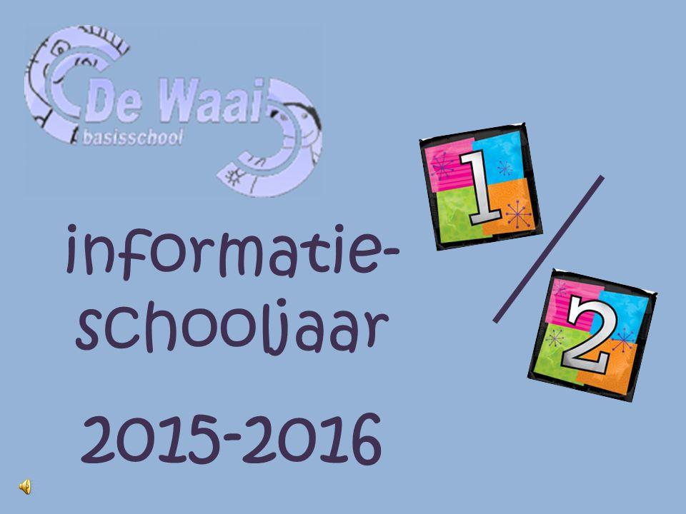 informatie- schooljaar 2015-2016