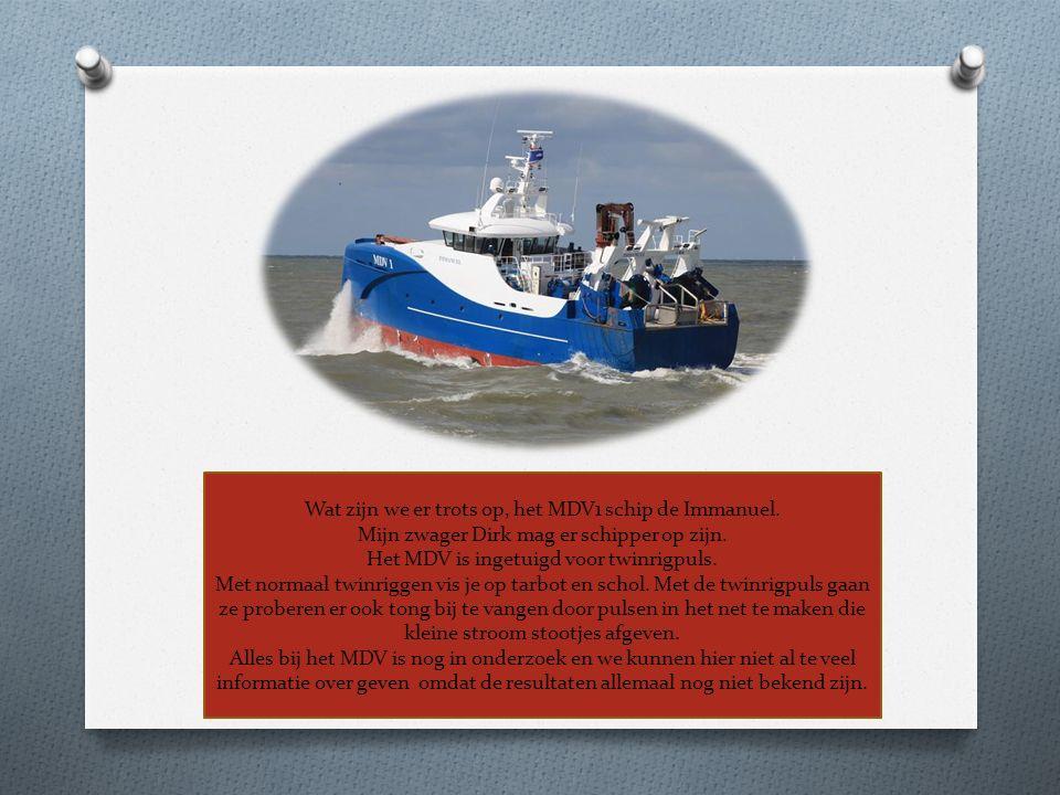 Wat zijn we er trots op, het MDV1 schip de Immanuel. Mijn zwager Dirk mag er schipper op zijn. Het MDV is ingetuigd voor twinrigpuls. Met normaal twin