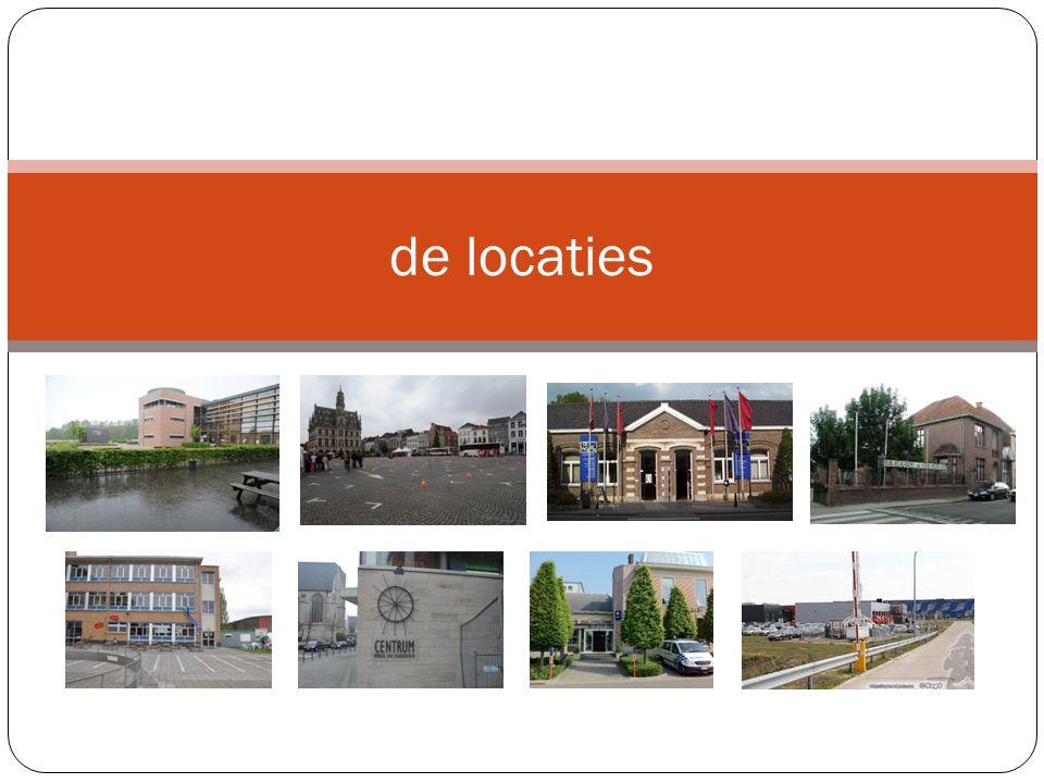 de locaties
