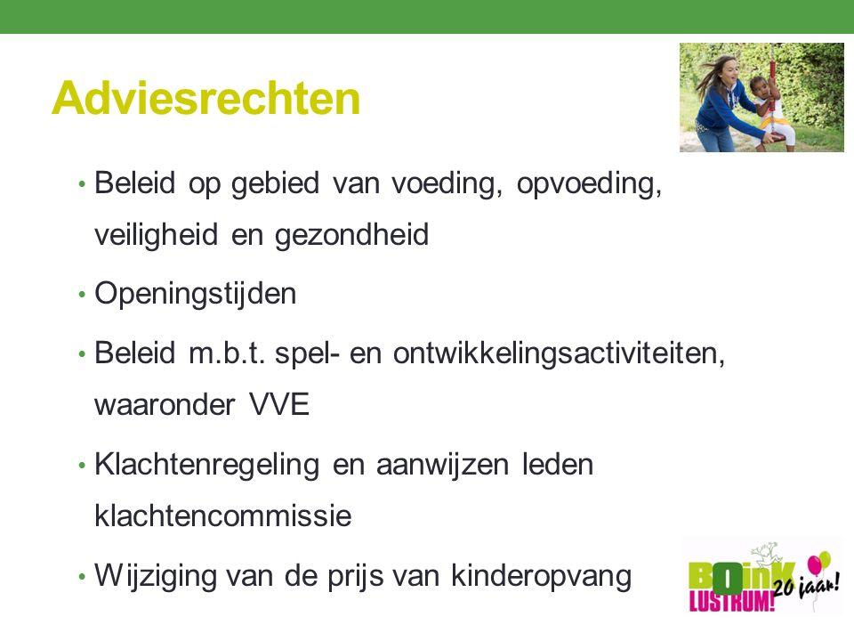 Verloop adviesprocedure Voorgenomen besluit tijdig voorleggen Heldere afspraken over termijnen.