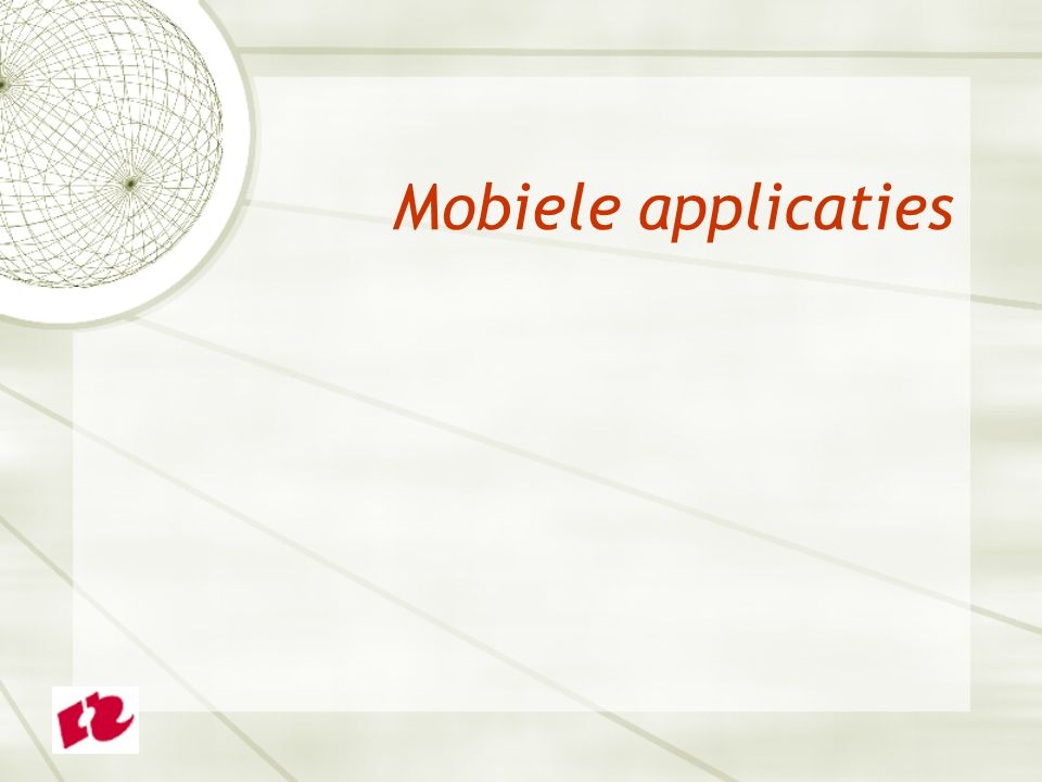 Mobiele applicaties