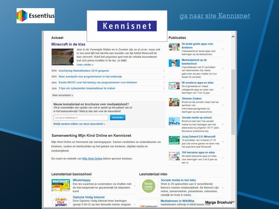 ga naar site Kennisnet