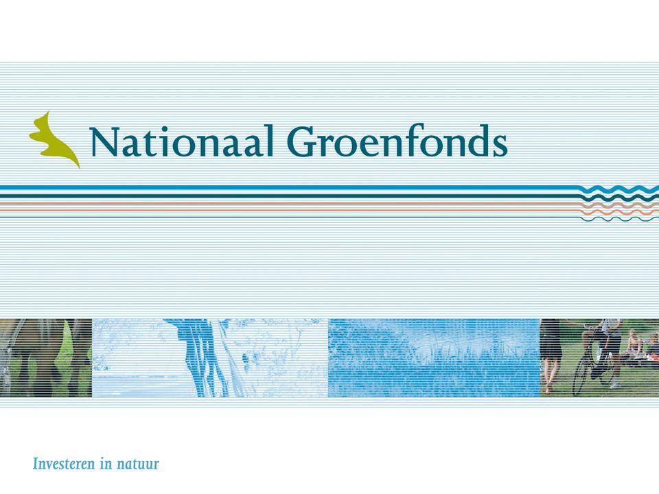 Nationaal Groenfonds Financieringsspecialist natuur en landschap Congres Ruimte voor Gelderland Provincie Gelderland 03-11-2015 Jac.