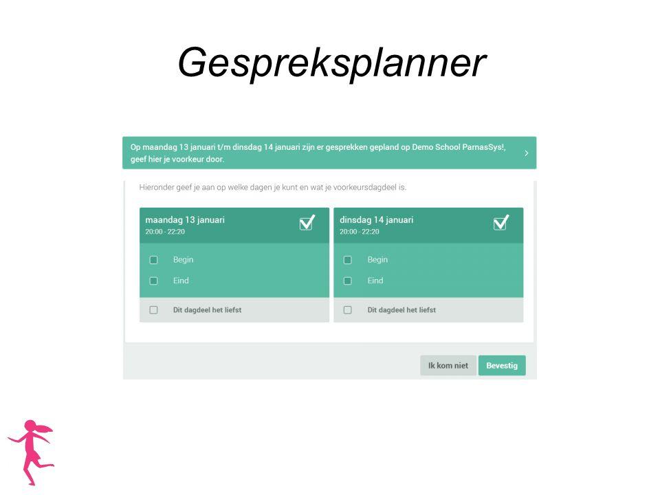 Gespreksplanner