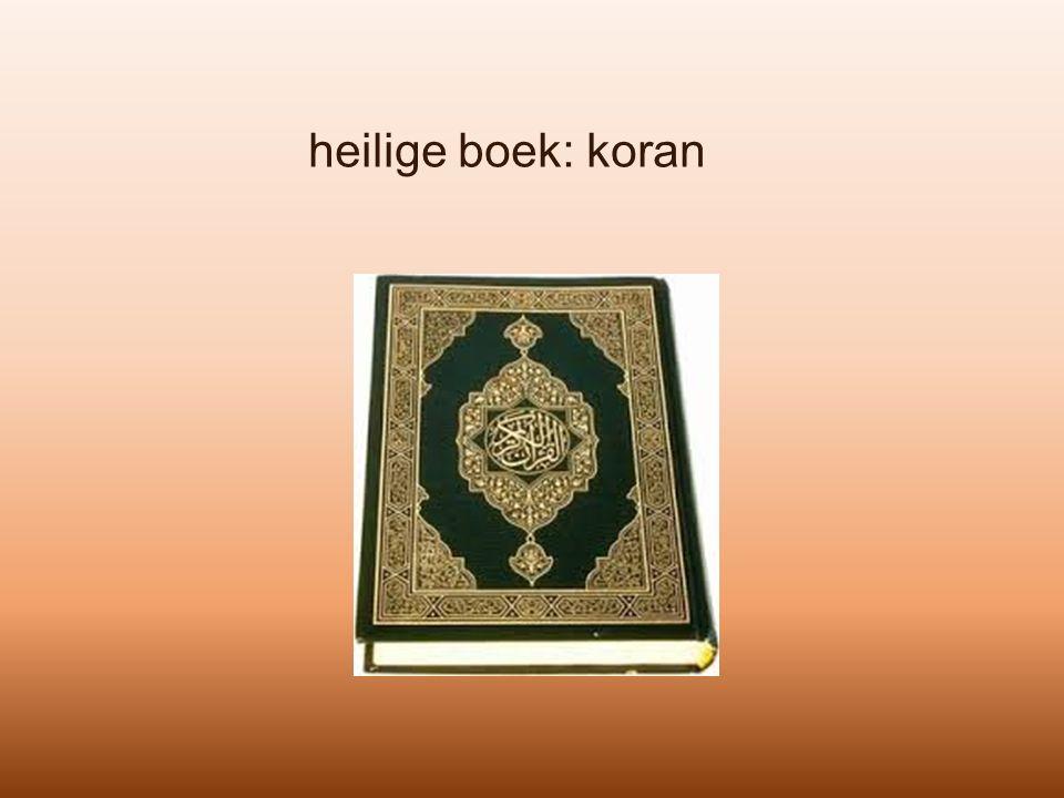 heilige boek: koran