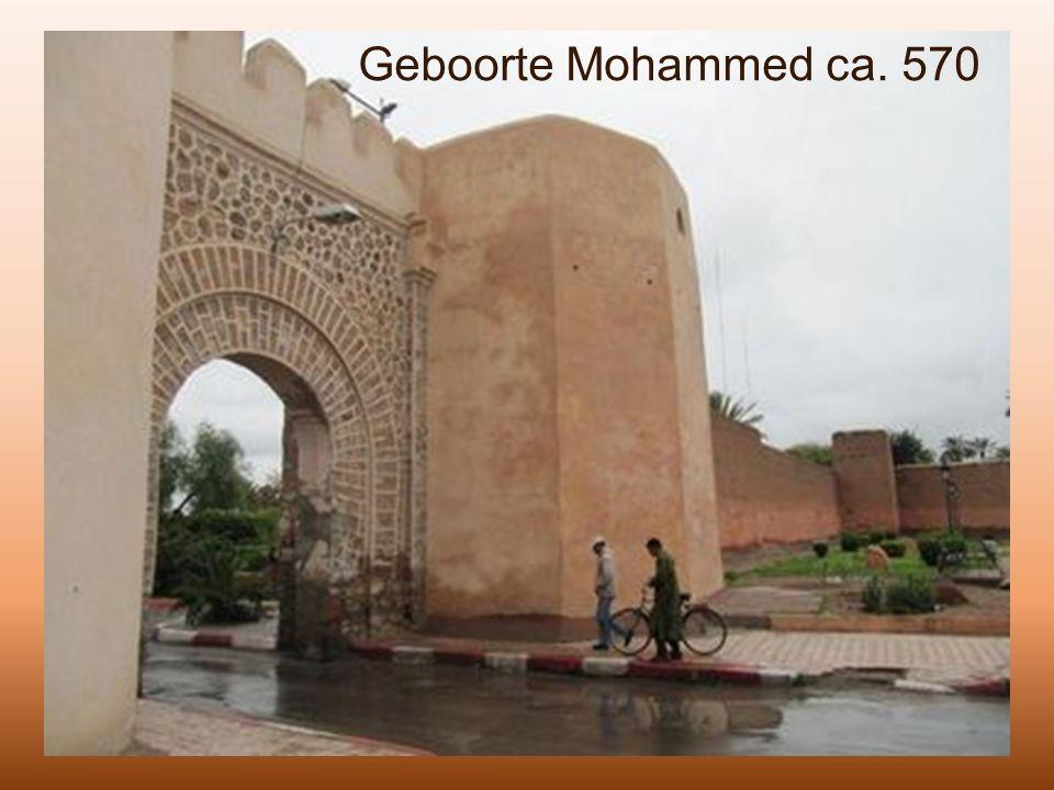 Geboorte Mohammed ca. 570