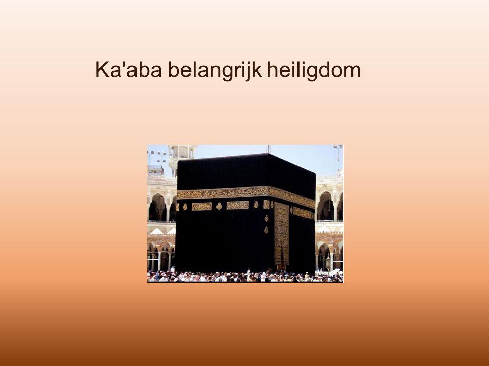 Ka'aba belangrijk heiligdom