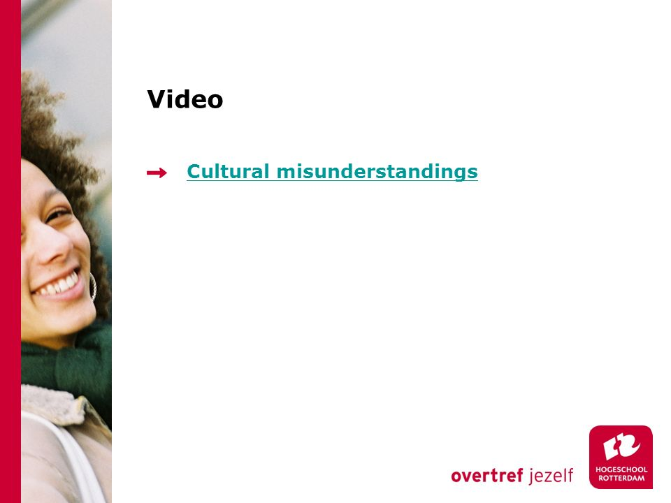 Cultural misunderstandings Video