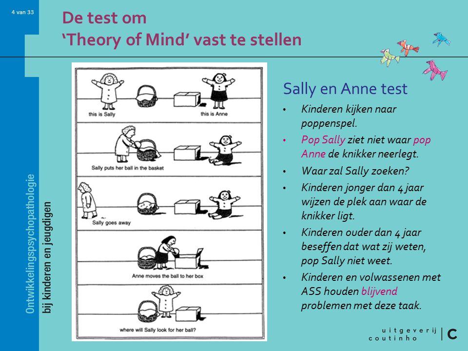 4 van 33 Sally en Anne test Kinderen kijken naar poppenspel.