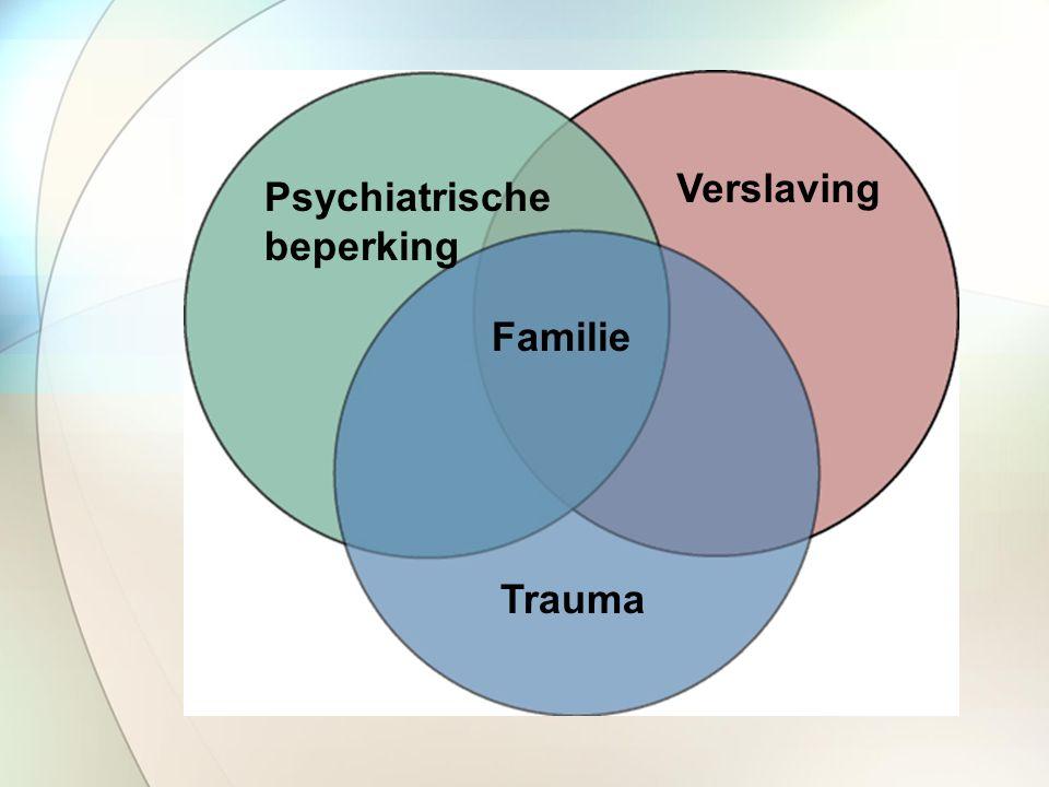 Psychiatrische beperking Verslaving Trauma Familie