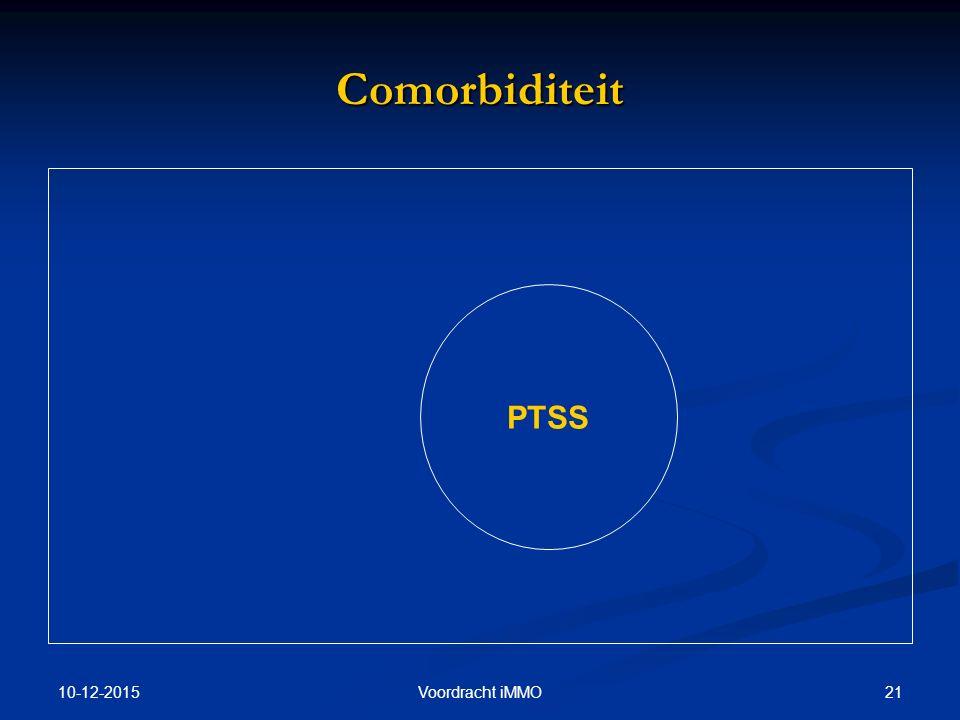 10-12-2015 21Voordracht iMMO Comorbiditeit PTSS
