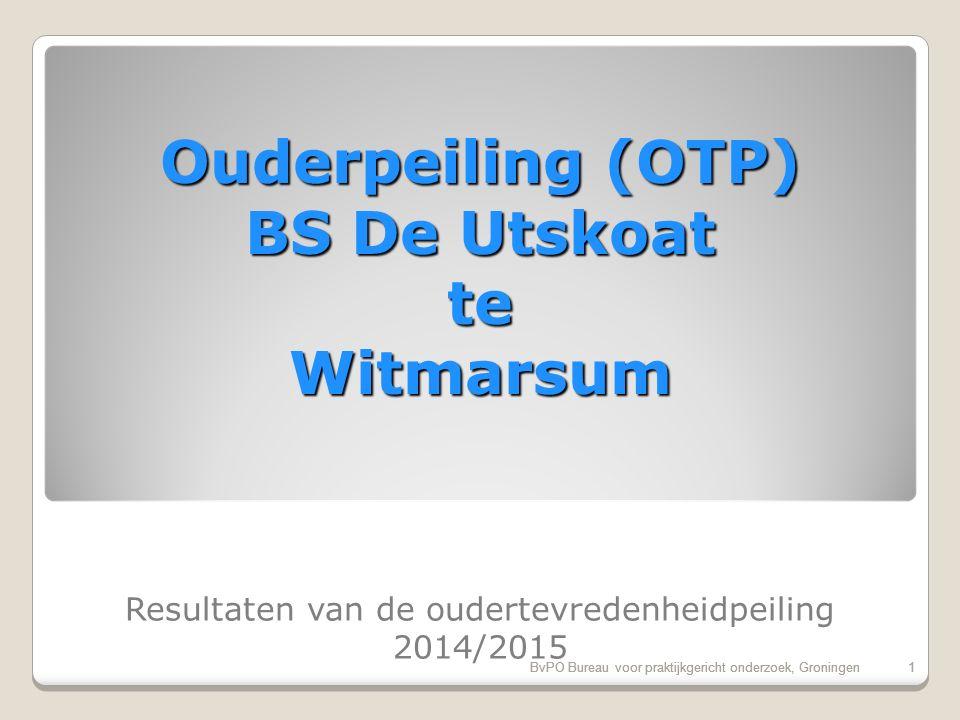 BvPO Bureau voor praktijkgericht onderzoek, Groningen11 Vergelijking onder-bovenbouw 11BvPO Bureau voor praktijkgericht onderzoek, Groningen