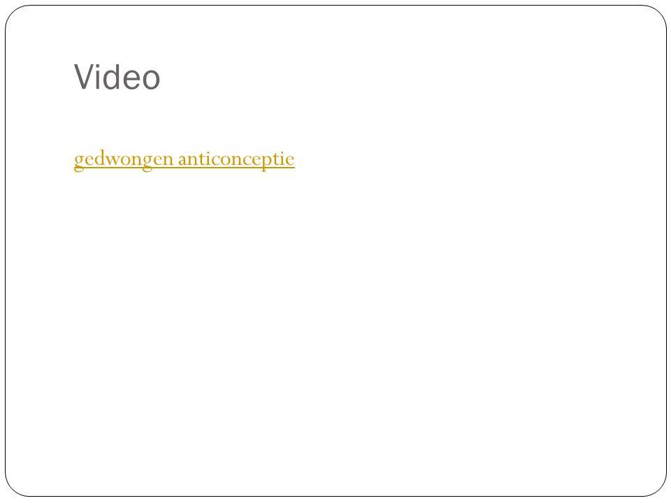 Video gedwongen anticonceptie