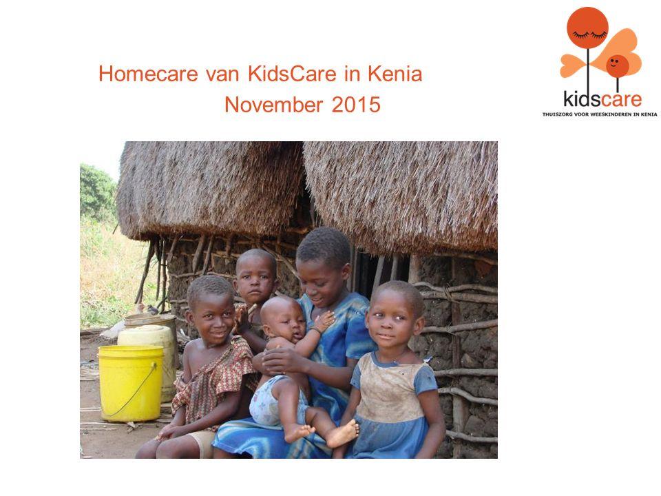 Homecare van KidsCare in Kenia November 2015
