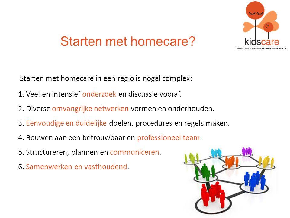 Waarom homecare voor kinderen.