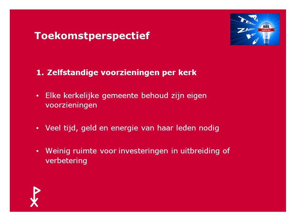Toekomstperspectief Masterplan Sociale voorzieningen Zeeuws-Vlaanderen 2012, SCOOP Vier scenario's, aangepaste versie 1.Zelfstandige voorzieningen per