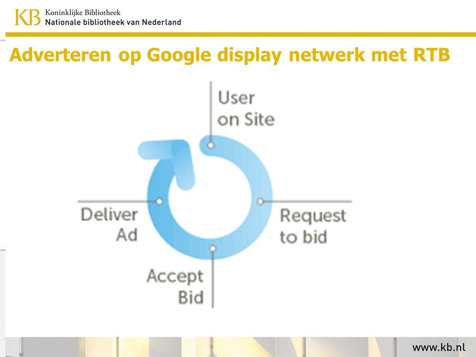 Adverteren op Google display netwerk met RTB