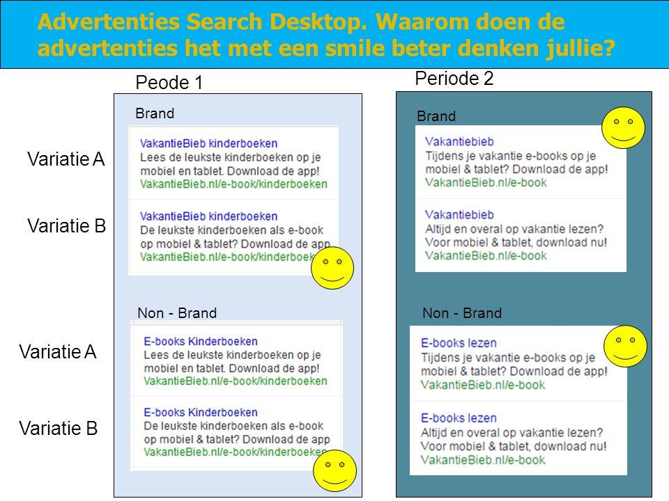 Advertenties Search Desktop.Waarom doen de advertenties het met een smile beter denken jullie.