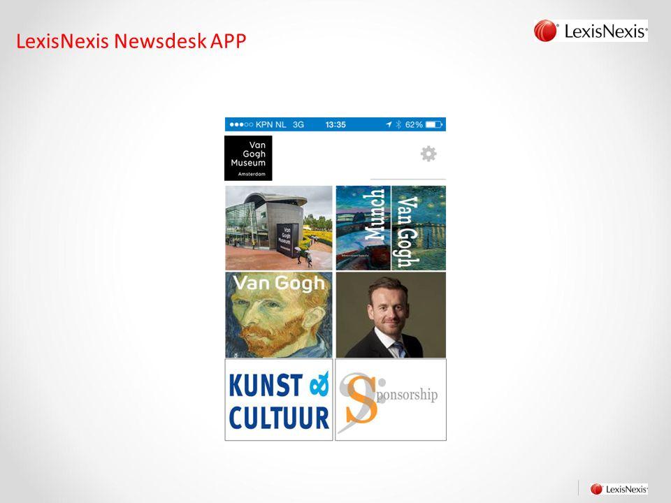 LexisNexis Newsdesk APP