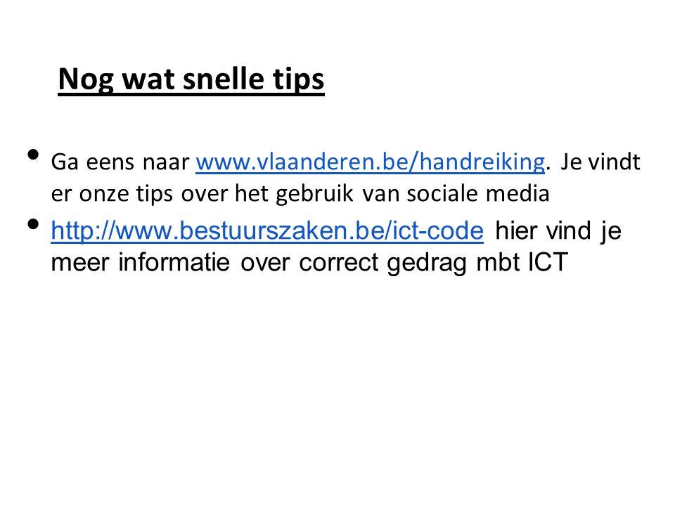 Ga eens naar www.vlaanderen.be/handreiking.