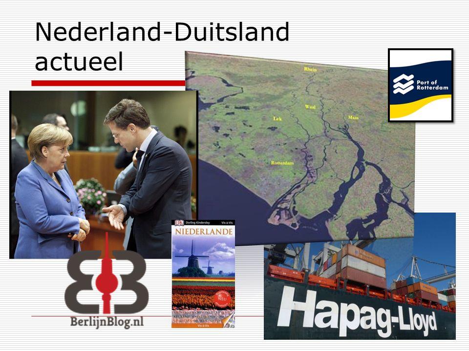 Nederland-Duitsland actueel