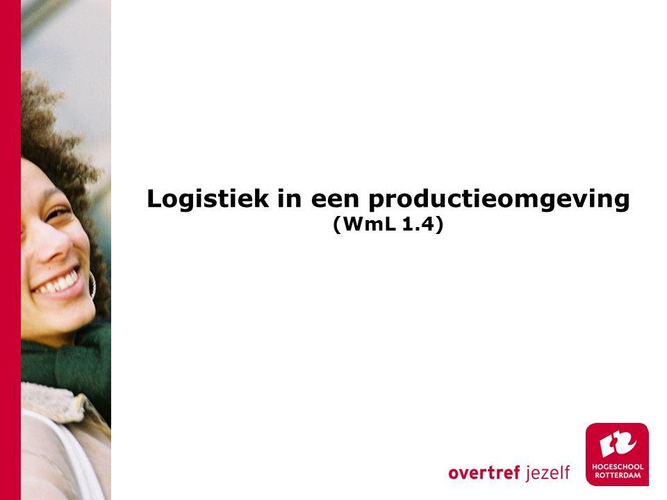 Logistiek in een productieomgeving (WmL 1.4)