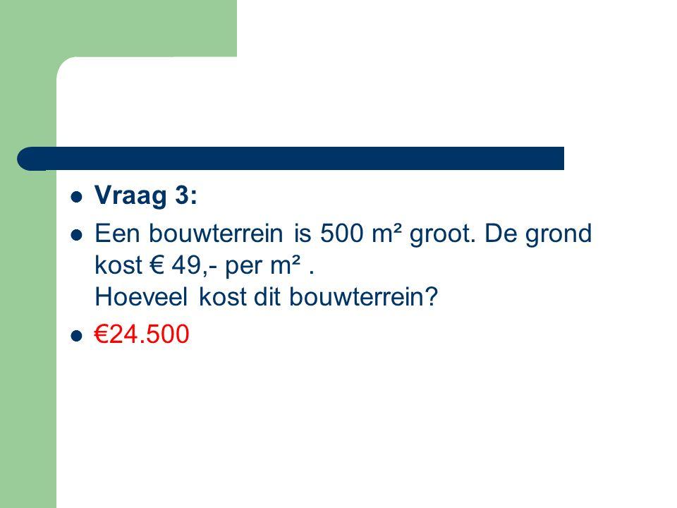 Vraag 14: Een radio kostte in januari € 120 In februari steeg de prijs met 10% en werd de prijs: € __132________ In juni daalde prijs weer met 10% en werd de prijs: € ________118,80__