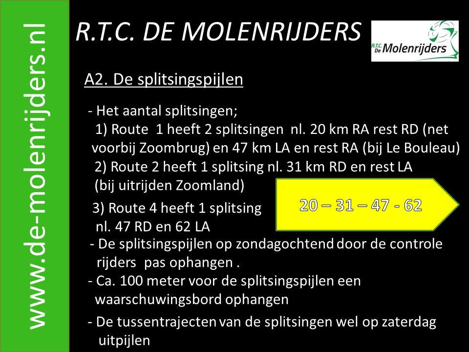 R.T.C.DE MOLENRIJDERS www.de-molenrijders.nl A2.