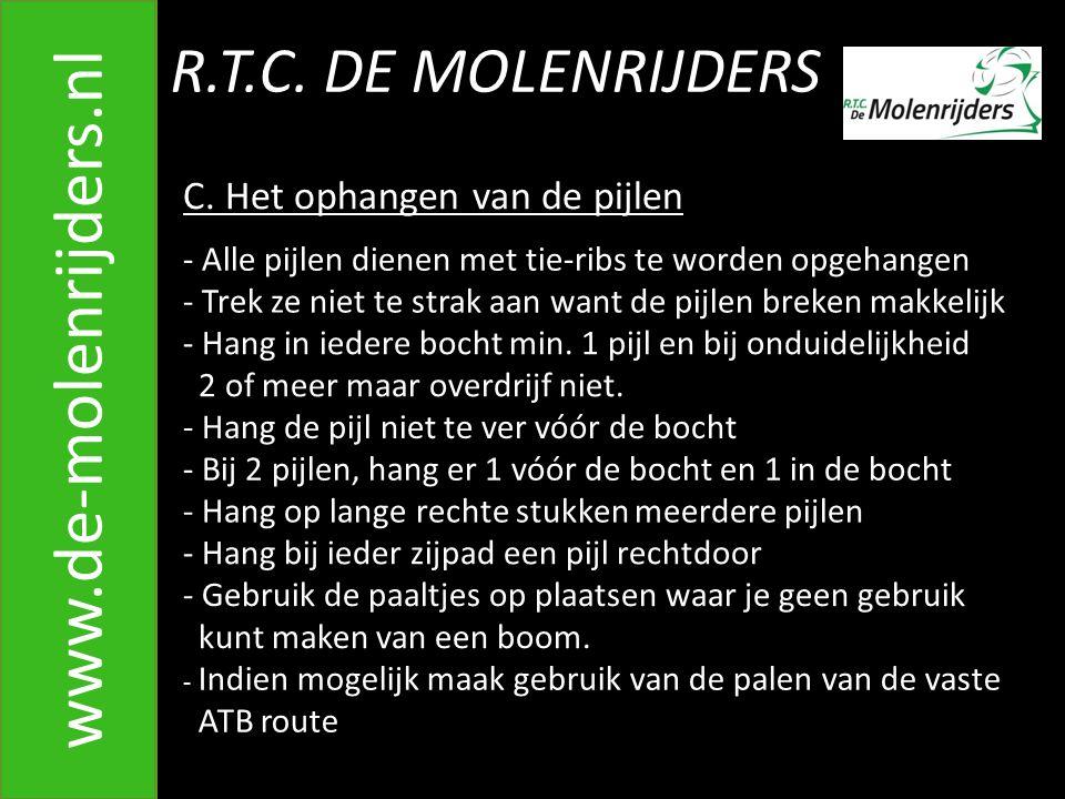 R.T.C.DE MOLENRIJDERS www.de-molenrijders.nl C.
