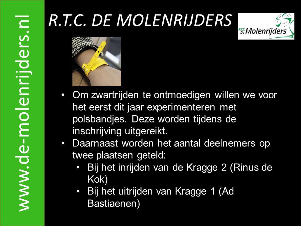 R.T.C.DE MOLENRIJDERS www.de-molenrijders.nl 30. Inrijden Bameerweg vanaf Torenbaan A.