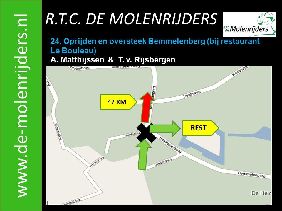 R.T.C.DE MOLENRIJDERS www.de-molenrijders.nl 24.