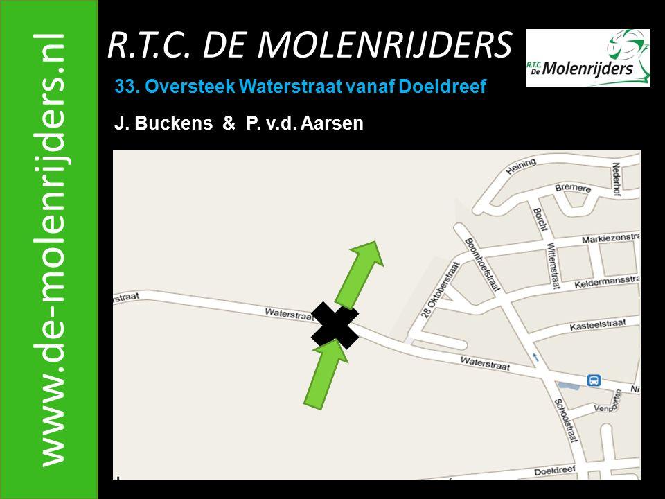 R.T.C.DE MOLENRIJDERS www.de-molenrijders.nl 33. Oversteek Waterstraat vanaf Doeldreef J.