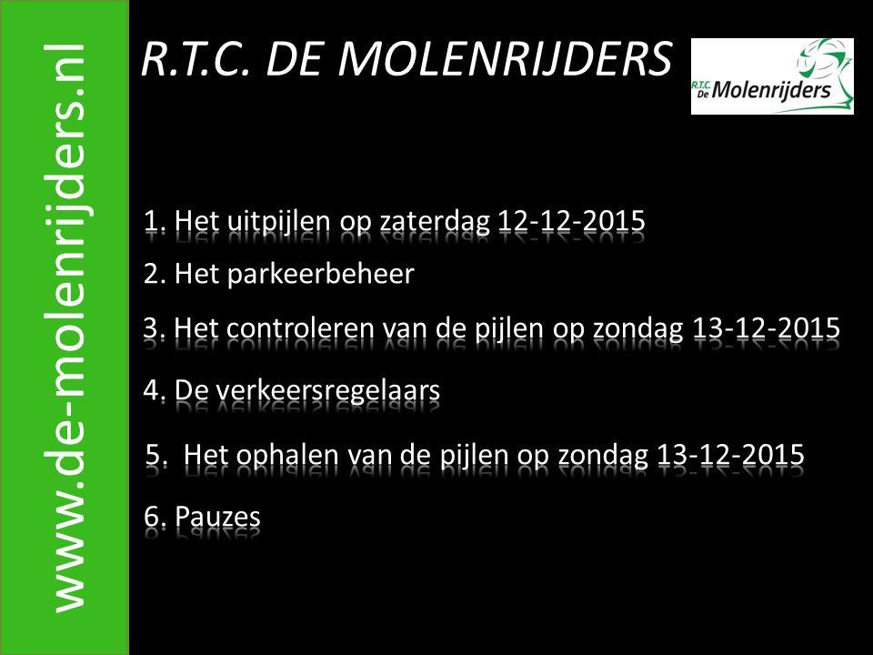 R.T.C. DE MOLENRIJDERS www.de-molenrijders.nl 11. Splitsing in Zoomland G. Mariën & F. Klaassen