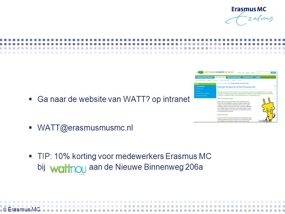  Ga naar de website van WATT.