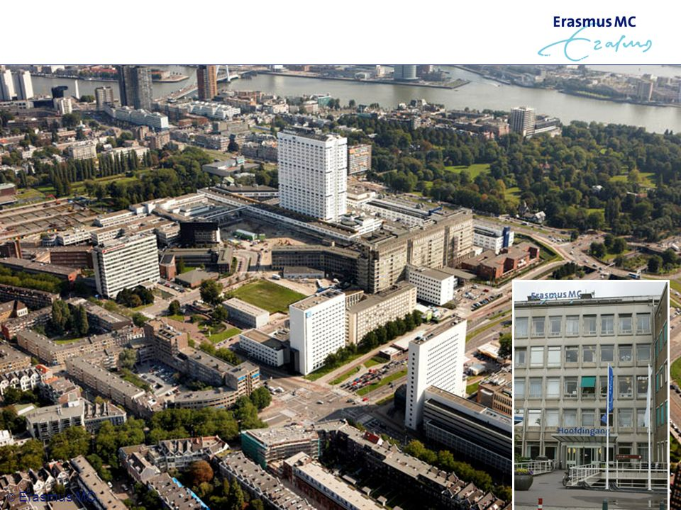 Website nieuwtjes © Erasmus MC