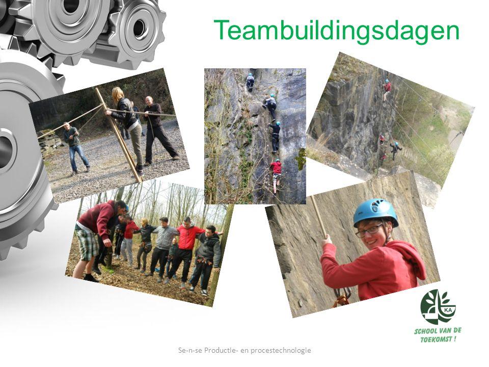 Teambuildingsdagen Se-n-se Productie- en procestechnologie