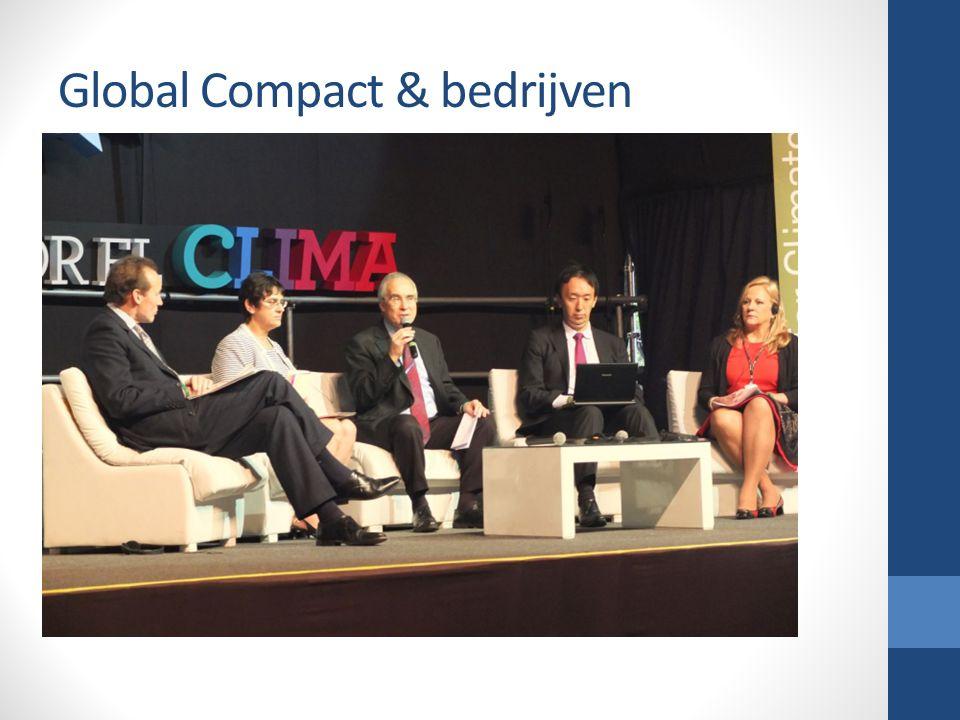 Global Compact & bedrijven