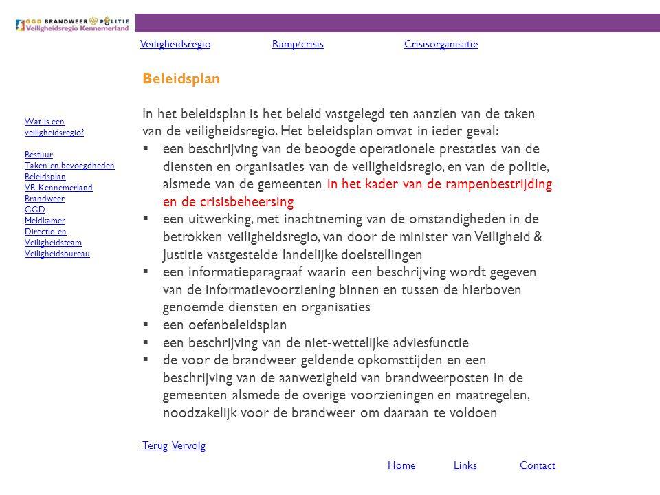 Voorbeelden Voorbeelden van grote incidenten, geen ramp of crisis, in onze regio zijn:  9 oktober 1970 - Verkeersramp nabij Schiphol, 7 doden  11 augustus 1978 - Verkeersongeval in de Velsertunnel, doordat vrachtwagen reservewiel verloor, 5 doden en 2 zwaargewonden  30 november 1992 - Treinramp bij Hoofddorp, ontsporing, 5 doden en 33 gewonden  4 april 1994 - KLM Cityhopper-vlucht 433 stort neer naast de Kaagbaan van Schiphol., 3 doden en 21 gewonden  27 oktober 2005 - Brand in cellencomplex, Schiphol, 11 doden  25 februari 2009 - Crash van Turkish Airlines-vlucht 1951 nabij Schiphol, 9 doden en 86 gewonden TerugTerug VervolgVervolg VeiligheidsregioRamp/crisisCrisisorganisatie HomeLinksContact Wat is een ramp of crisis.
