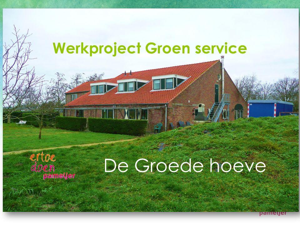Werkproject Groen service De Groede hoeve