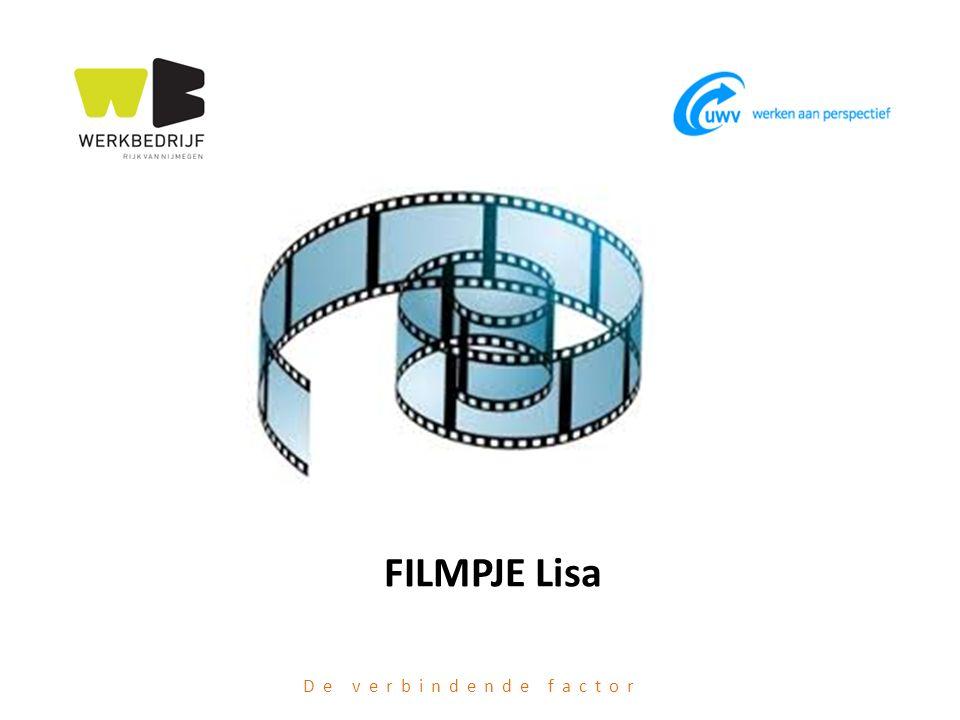 De verbindende factor FILMPJE Lisa