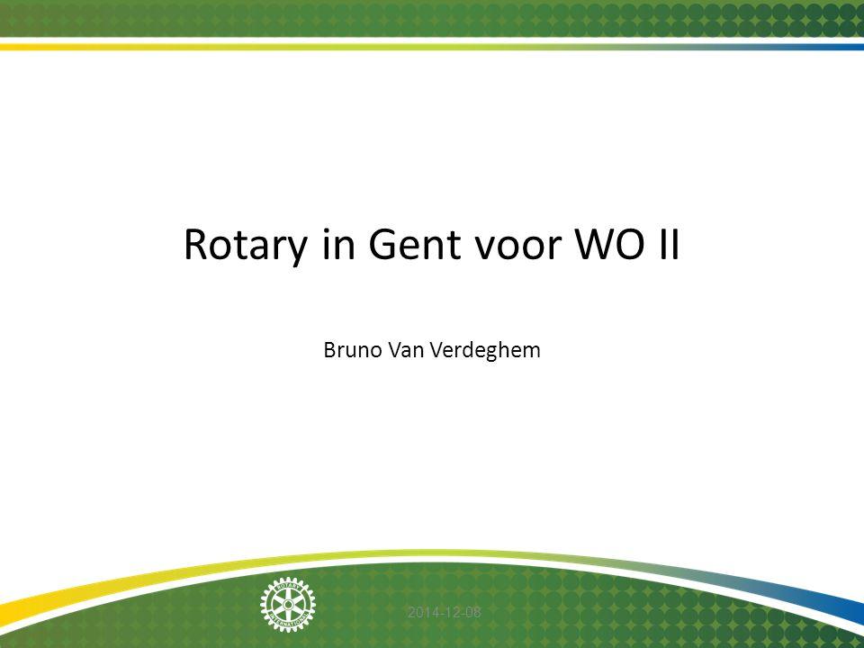 2014-12-08 Tijdens de laudatio van Herry en Vandenhaute op 23 november 1935 haalt Past- Gouverneur Willems volgende passage aan, waaruit kan worden afgeleid dat hij mee stond aan de wieg van RC Gent.