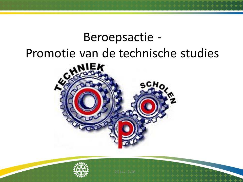 2014-12-08 Beroepsactie - Promotie van de technische studies
