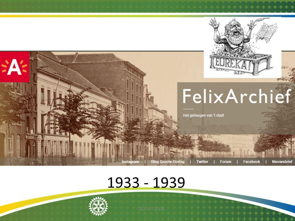 1 1933 - 1939