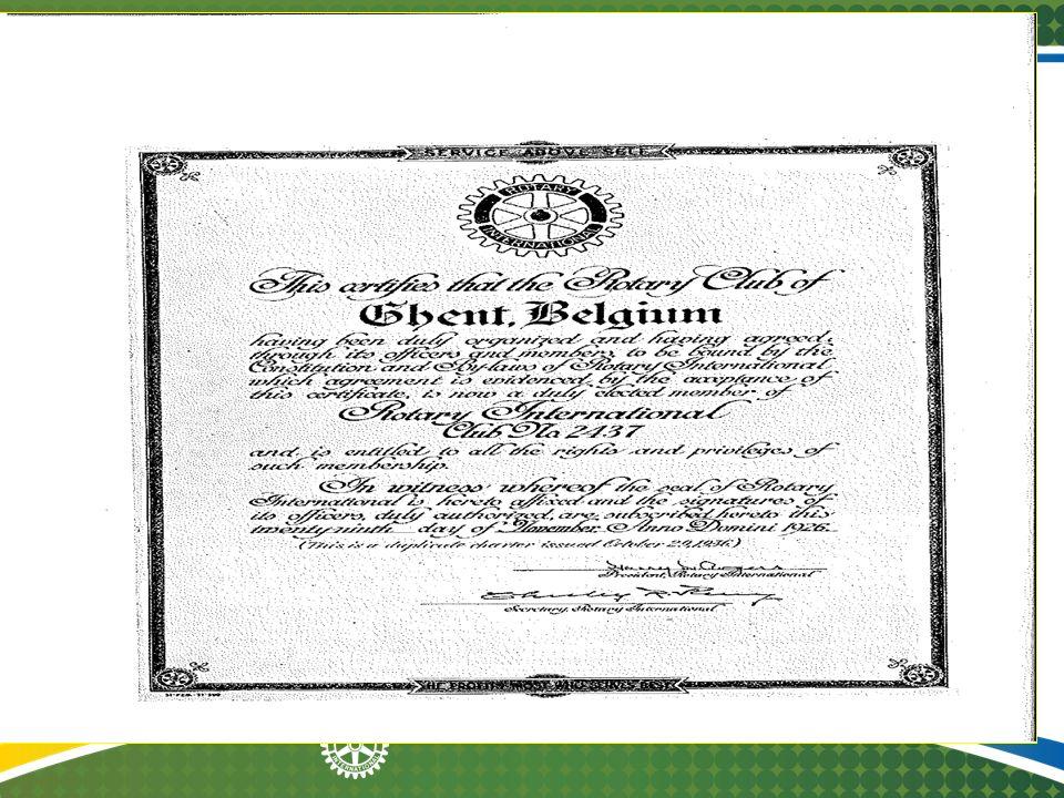 Rotary en de katholieke kerk in België In 1929 werd te Rome door de Congregatie van het Consistorie voor alle katholieken een decreet uitgevaardigd met de strekking, dat het ongewenst is, dat bisschoppen aan de geestelijken toestaan lid te zijn van een Rotary club of althans haar vergaderingen bij te wonen.