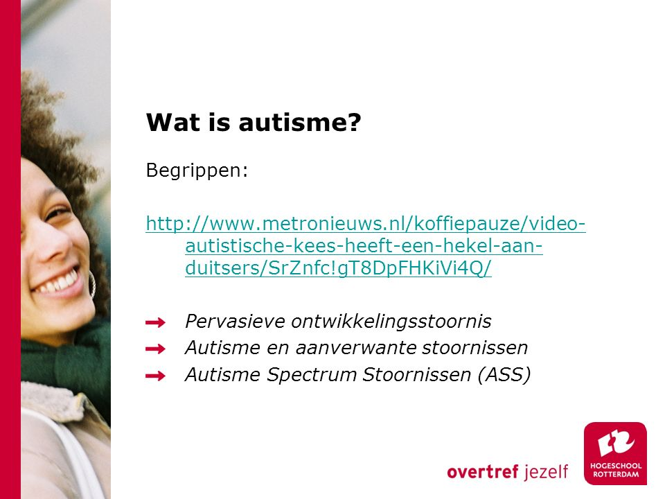 Wat is autisme.